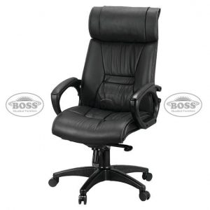 Boss B-517 President High Back Double Ply Revolving Chair