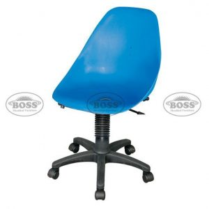 Shell Rovolving Chair with Arms and Mechenical Jeck