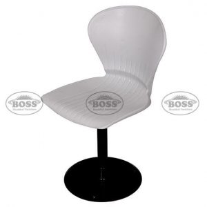 Pecock Shell Revolving Chair with Mechenical Jeck & Base Plate