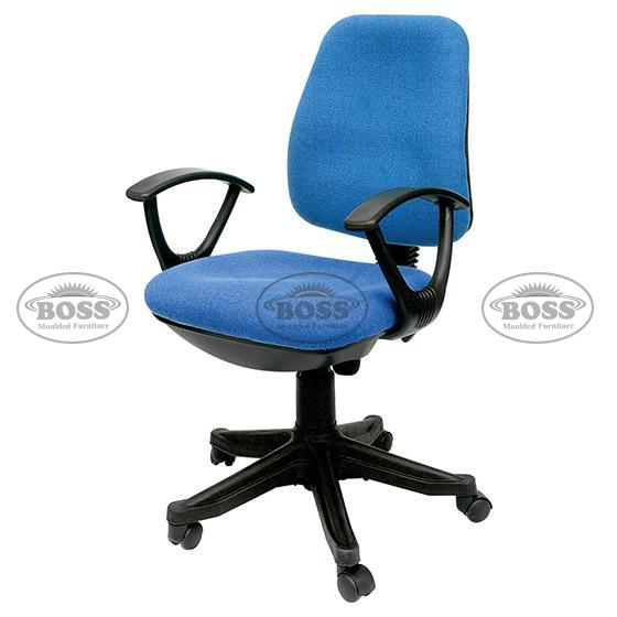 Boss B-503 Computer Revolving Chair with Hydrolic Jeck