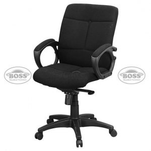 Boss B-522 China Model Single Ply Low Back Executive Chair