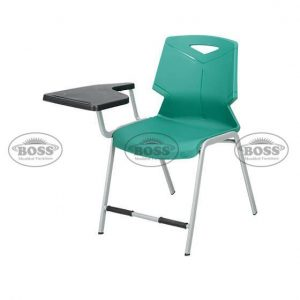 Steel Plastic Green Shell Study Chair