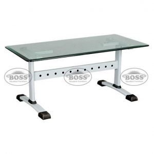 Boss B-218 Rectangular Glass Table Large