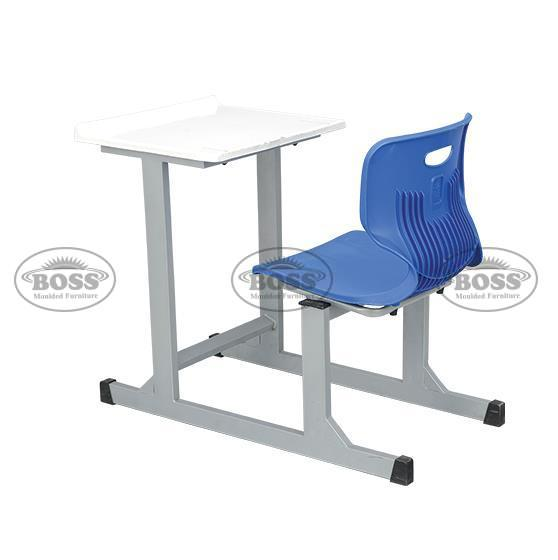 Joint One Seater Desk With Fiber Top