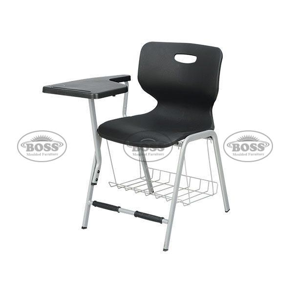 Study Chair with Steel Rack
